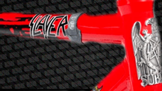 Marca cria bicicleta do Slayer
