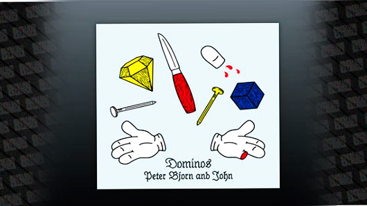 "89 faz single Premier de ""Dominos"", de Peter Bjorn And John"