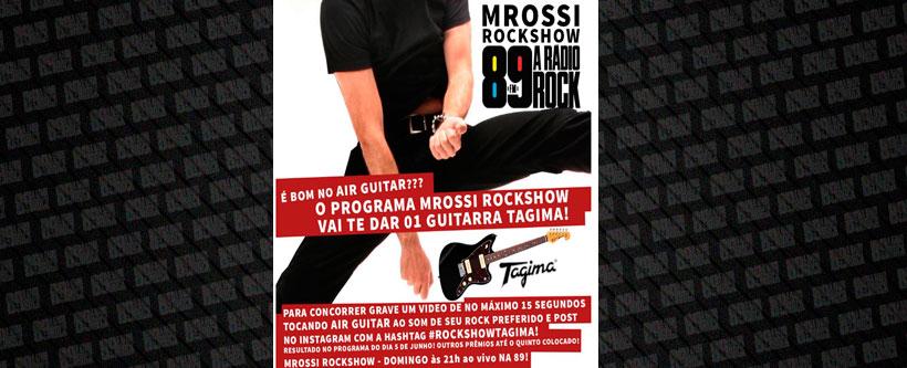 Promoção Rockshow e Tagima