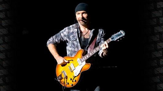 The Edge, do U2, recebe prêmio da Fundação Les Paul