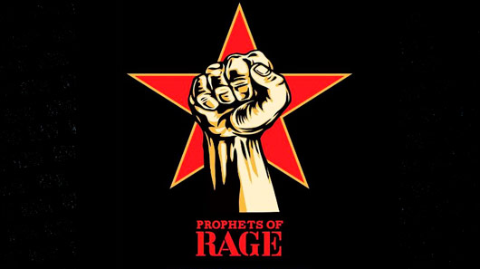 "Profets Of Rage disponibiliza audição do single ""The Party is Over"""