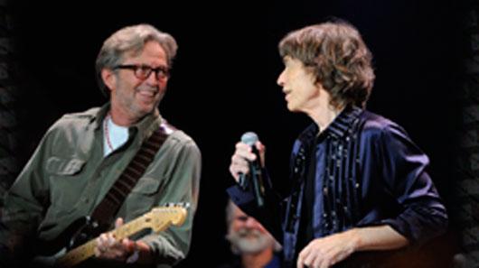 Eric Clapton grava com Rolling Stones faixas do novo álbum
