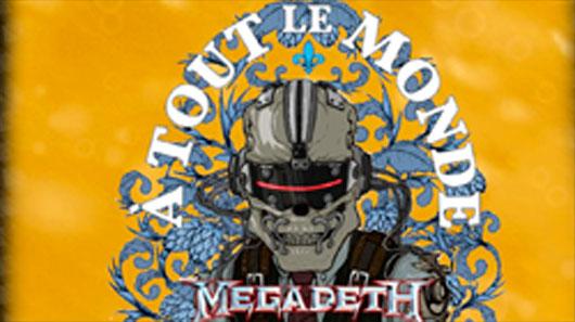 """Megadeth lança cerveja """"À Tout Le Monde"""""""