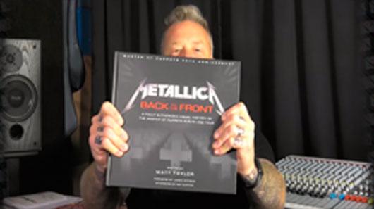 """Metallica anuncia lançamento de livro sobre o álbum """"Master of Puppets"""""""