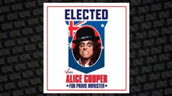 Rockstars não devem se meter em política, diz Alice Cooper