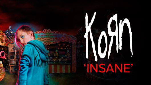 "Ouça ""Insane"", novo single do Korn"