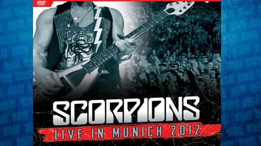 Scorpions libera prévia de novo DVD