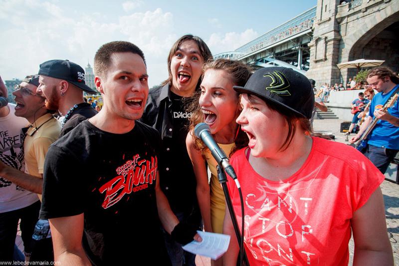 20 vocalistas comandaram o Rocknmob