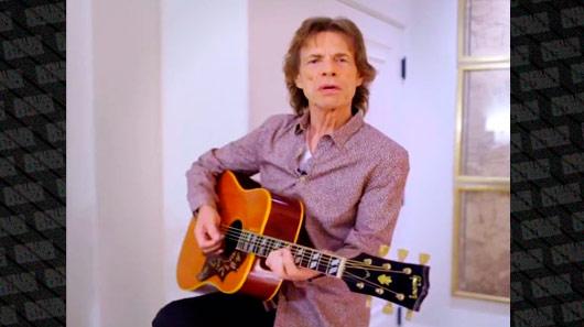 Veja clipes dos dois novíssimos singles de Mick Jagger