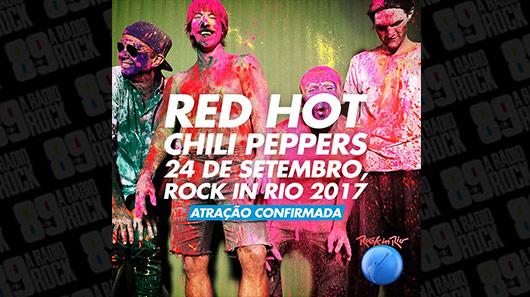 Rock in Rio confirma Red Hot Chili Peppers no Brasil em 2017