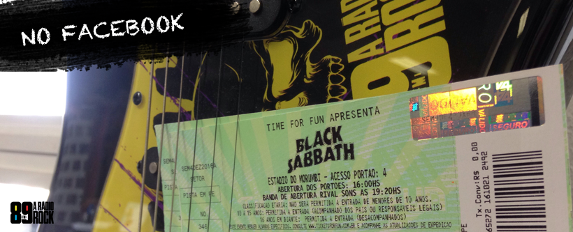 Promo Black Sabbath Via Facebook