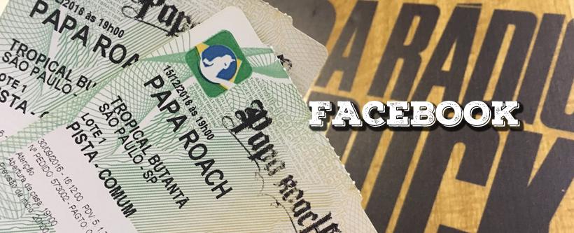 Promo Papa Roach via Facebook