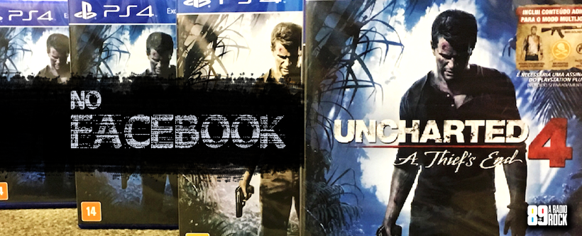 "Promo ""Uncharted 4"" para PS4 no Facebook"