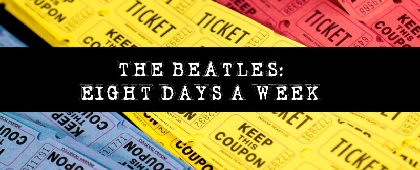 "Concurso Cultural ""The Beatles: Eight Days A week"""