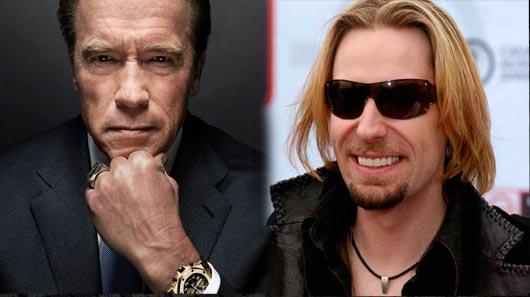 Arnold Schwarzenegger compara Nickelback a herpes e perde briga nas redes sociais