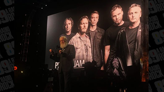 Pearl Jam passa a fazer parte do Rock and Roll Hall Of Fame