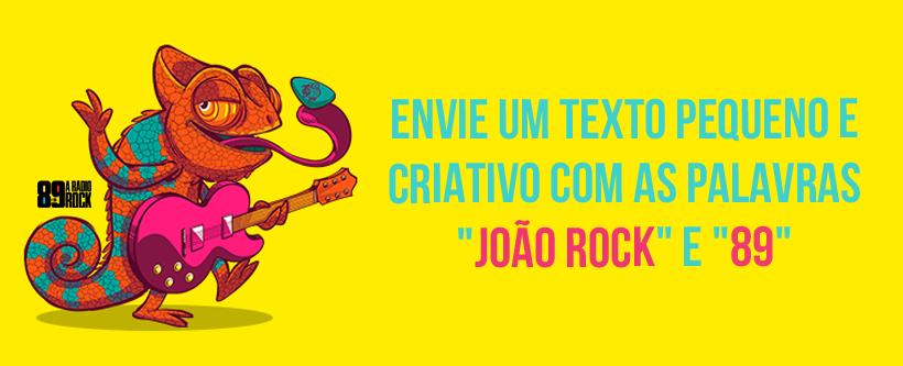 Concurso Cultural: ingressos para o Festival João Rock