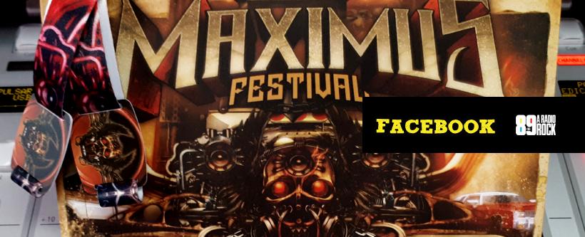 Ingressos para o Maximus Festival via Facebook