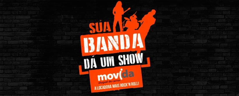 """""""Sua Banda Dá Um Show"""" com a Movida e a 89"""