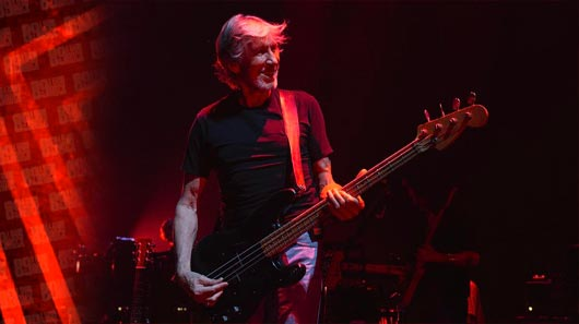 "Roger Waters libera vídeo ao vivo de ""Another Brick In The Wall"""