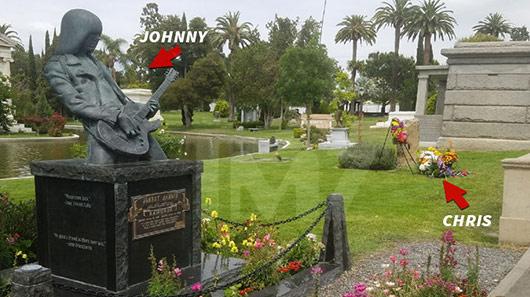 Cinzas de Chris Cornell são enterradas ao lado de Johnny Ramone