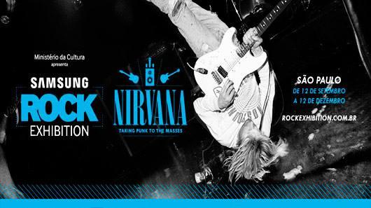 SP: ingressos para exposição sobre o Nirvana começam a ser vendidos