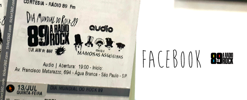 Ingressos Tributo aos Mamonas Assassinas via Facebook