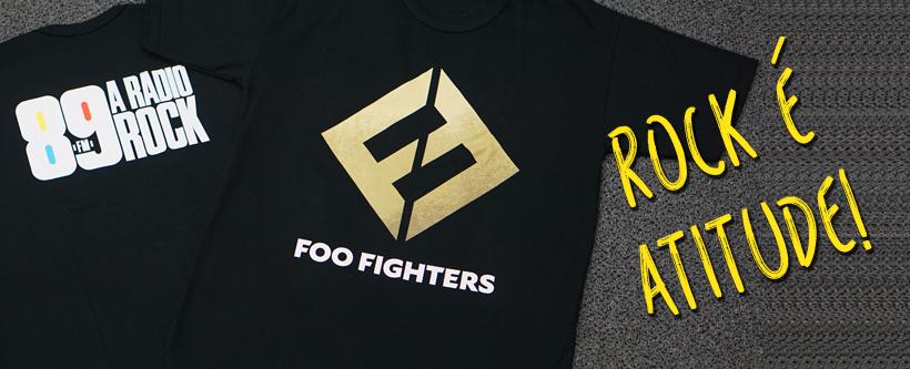 Ação Social – Camisetas Foo Fighters 89