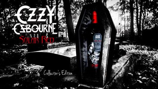 Ozzy Osbourne lança vinho em celebração de eclipse solar
