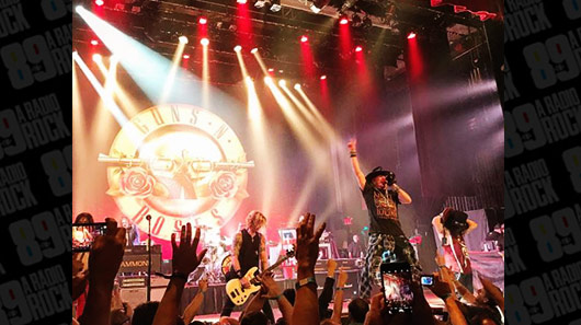 "Guns N´Roses comemora 30 anos do álbum ""Appetite For Destruction"" com show especial em Nova York"