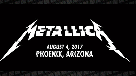"Metallica TV libera vídeo ao vivo de ""Halo On Fire"""