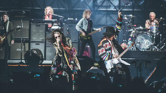 """Walk This Way"", do Aerosmith, entra para o Grammy Hall Of Fame"