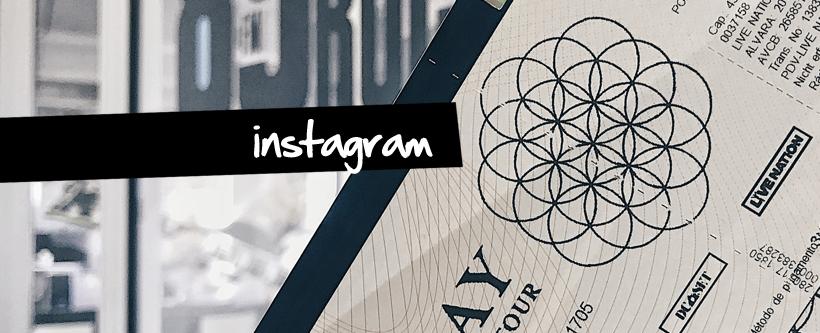 Ingressos show do Coldplay em SP via Instagram