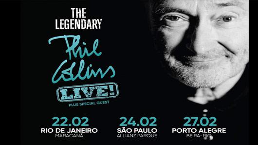 Abertas vendas de ingressos para shows de Phil Collins no Brasil