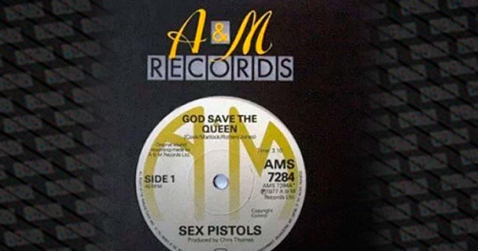 Single raro do Sex Pistols é vendido por cerca de 50 mil reais