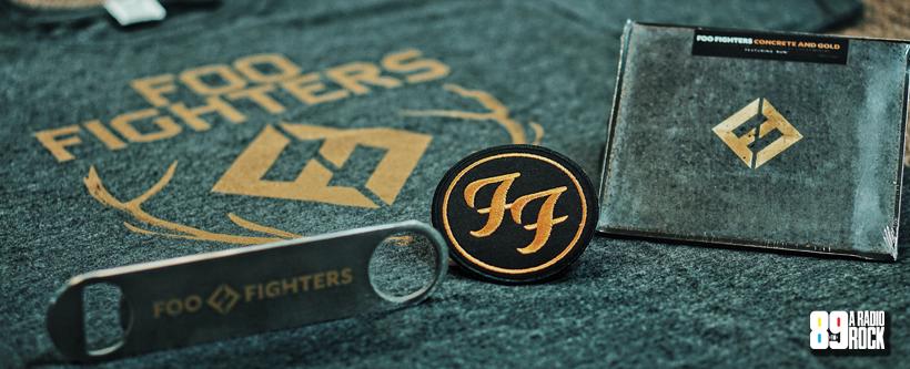Kit do Foo Fighters