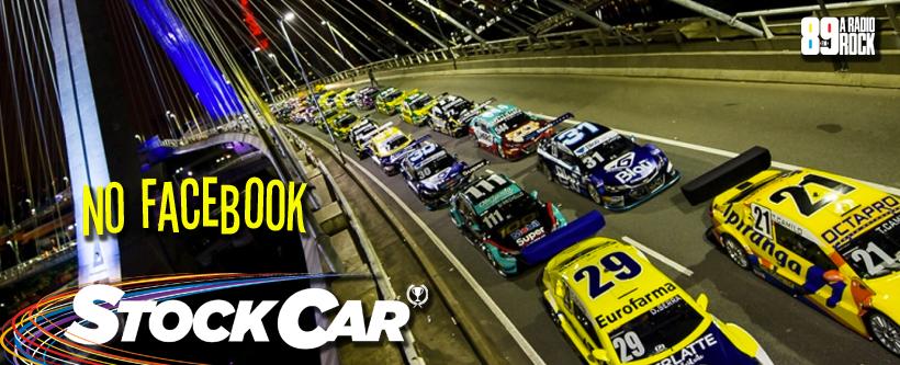 Concurso Stock Car via Facebook