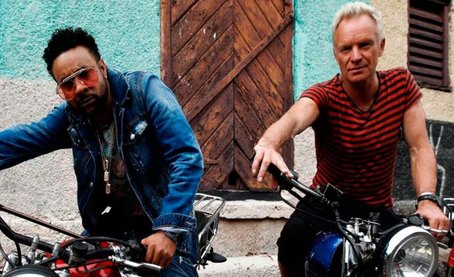 Sting libera videoclipe de parceria com Shaggy