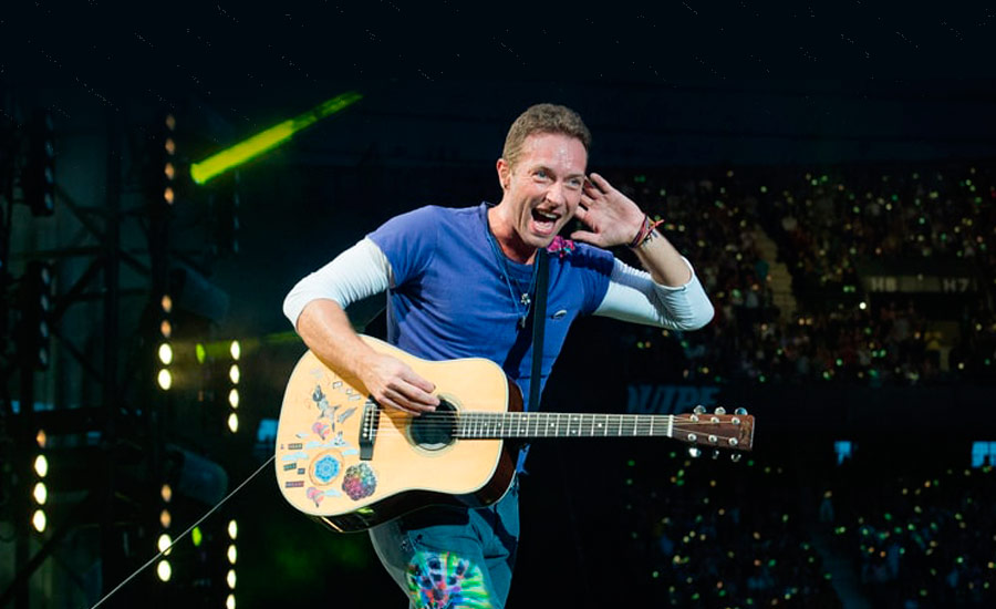 Chris Martin, do Coldplay, traz Global Citizen Festival à América do Sul