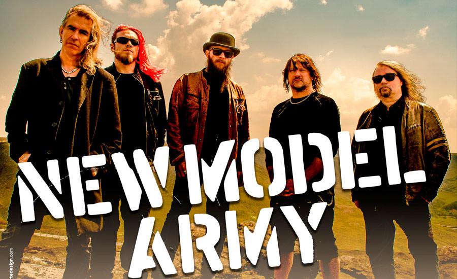 New Model Army agenda dois shows em São Paulo