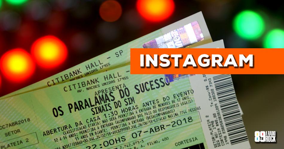 Promo Paralamas do Sucesso via Instagram