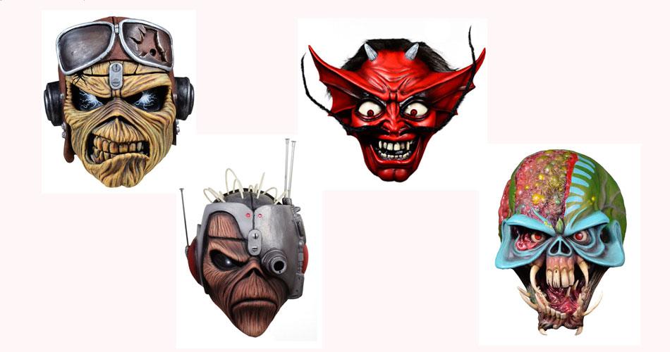 Iron Maiden lança novas máscaras para o Halloween