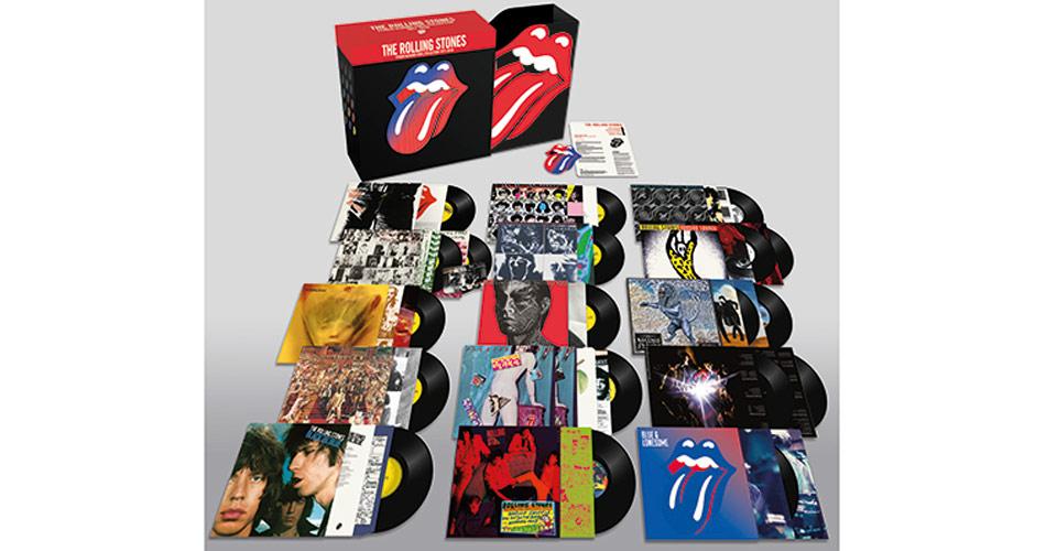 Rolling Stones preparam lançamento de supercaixa de vinis