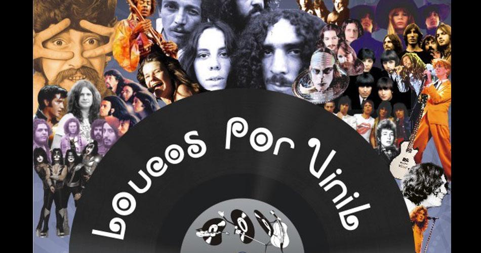 """""""Loucos por Vinil Fair"""" reúne discos, fãs e shows no Embu das Artes"""