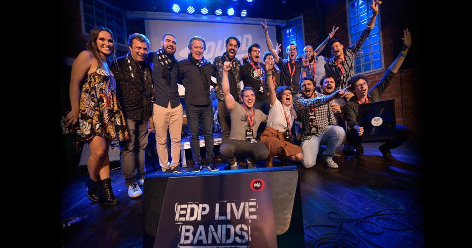 Sound Bullet é a grande vencedora da terceira edição do EDP Live Bands Brasil
