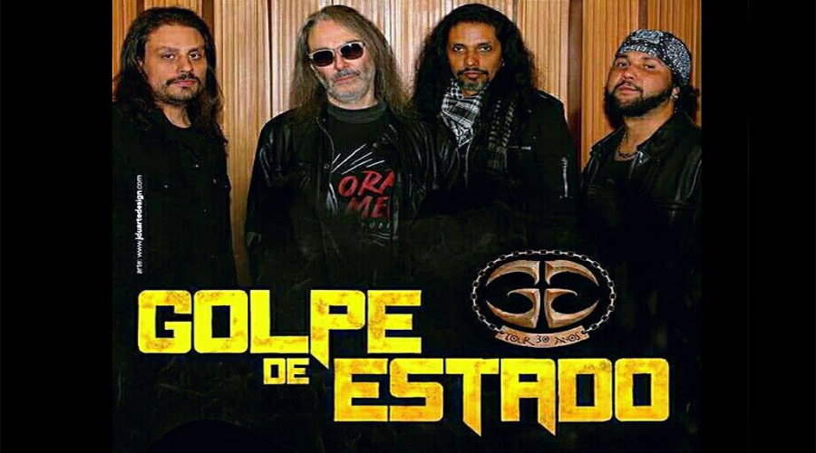 Golpe de Estado faz lançamento de seu novo CD ao vivo em São Paulo