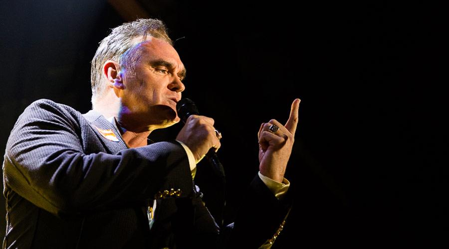 Morrissey acerta vinda ao Brasil, diz jornal