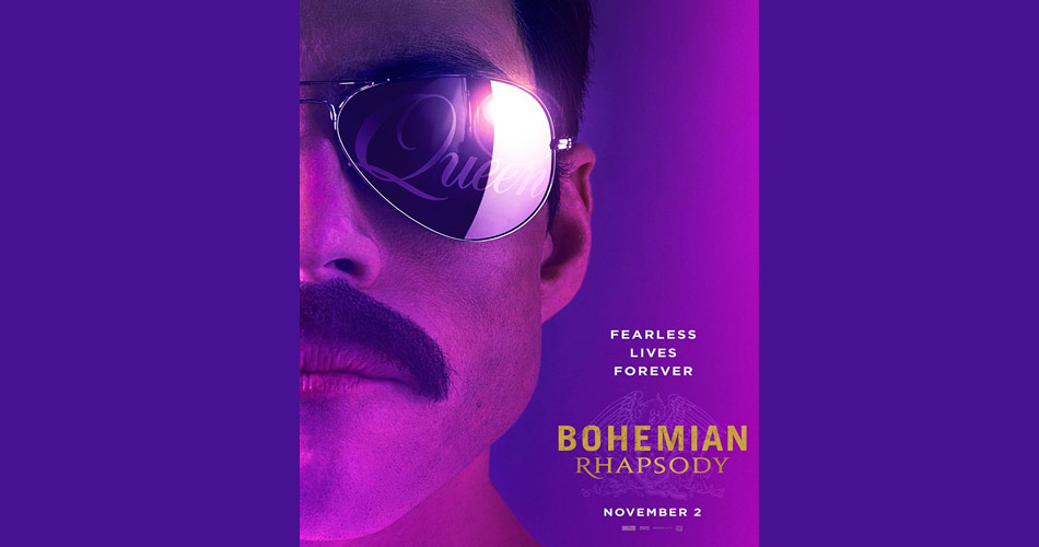"Queen divulga teaser do primeiro trailer do filme ""Bohemian Rhapsody"""