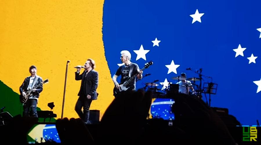 DVD colaborativo do U2 no Brasil está disponível para download
