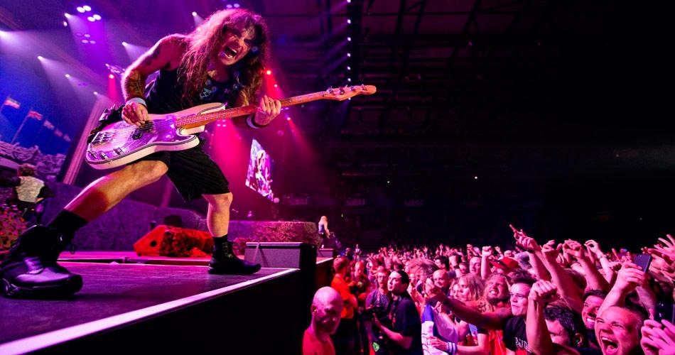 Iron Maiden libera vídeo com imagens dos primeiros shows de sua atual turnê